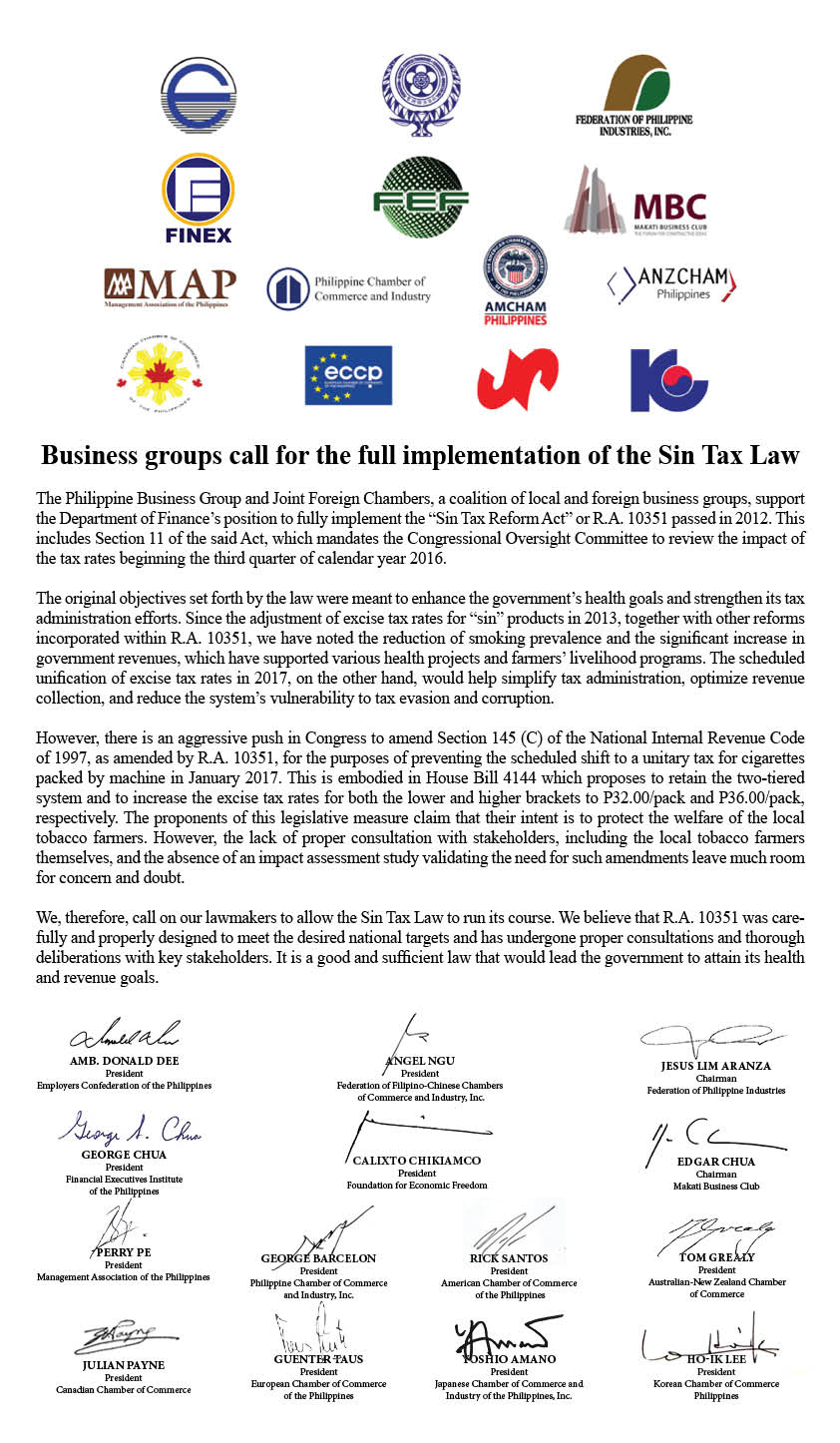 sintax reform law Sin tax reform in the philippines : transforming public finance, health, and  governance for more inclusive development (english.